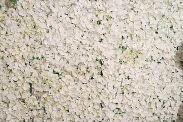 White flowers decorative