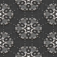 Decorative texture background, 3d illustration
