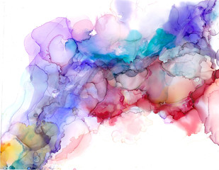 Alcohol ink texture. Fluid ink abstract background. art for design