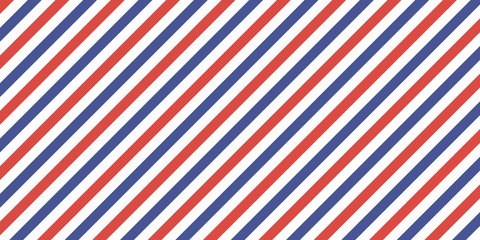 7507822 Classic retro background diagonal stripes red blue color, vector color stripes flag, airmail
