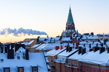 roofs of Stockholm