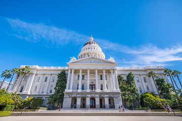 California State Capitol building, Sacramento, California;