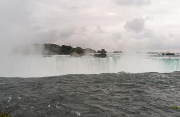 Niagara Falls from above horseshoe falls