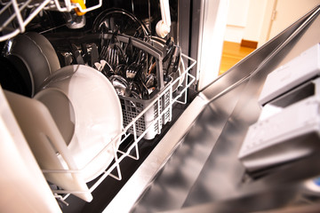 Domestic dishwasher full or house ware