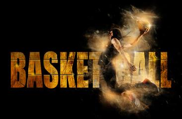 Basketball banner concept