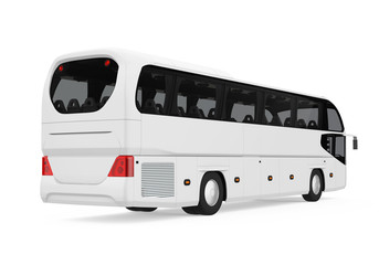 Coach Bus Isolated
