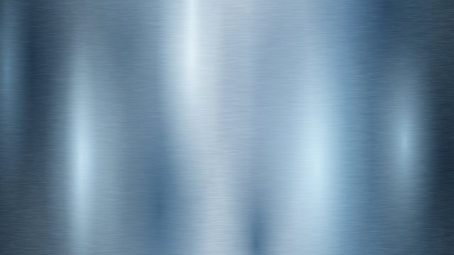 Abstract background with metal texture in light blue color