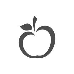 Simple Apple Logo Vector