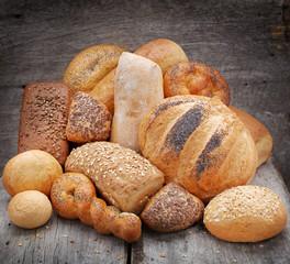Fototapeta Pieczywo chleb i bułki obraz
