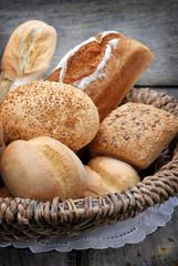 Obraz Pieczywo chleb i bułki - fototapety do salonu