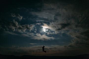 Man Universum himmel frei