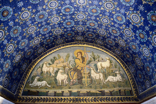 Mausoleo di Galla Placidia - Il buon Pastore