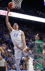 NCAA Basketball: North Dakota at Kentucky