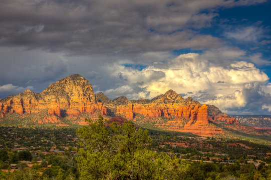 Sedona and the Rain