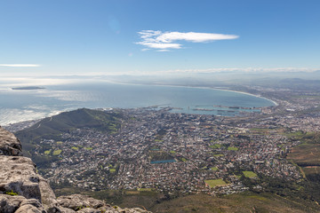 Le Cap vu depuis Table Mountain