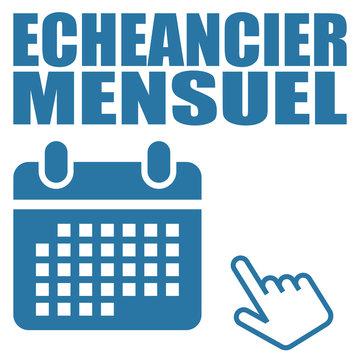 Logo échéancier mensuel.