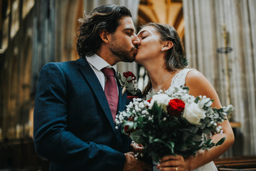 You can kiss the bride