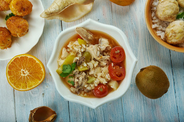 Creole Chicken Gumbo Soup
