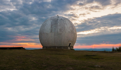Berlin, Germany, tourists on a tour of the former U.S. radar station Stock  Photo - Alamy