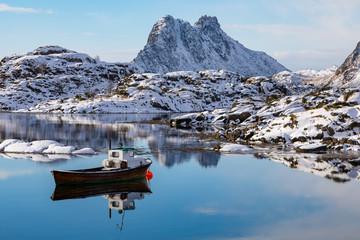 Winter auf den Lofoten