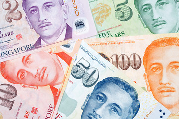 Singapore dollars, a business background