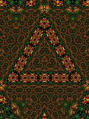 Fototapeta triangle obraz