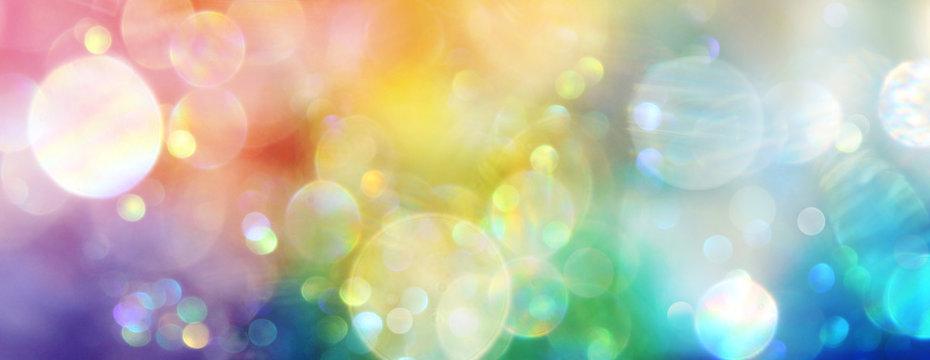 Banner Regenbogenlicht