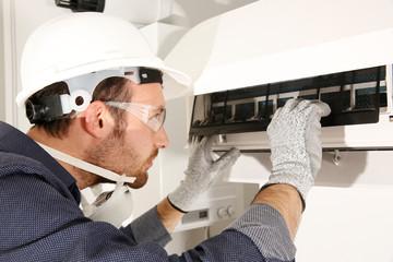 klima bakım onarımı dezenfekte işlemi