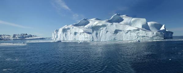 Eismeerfahrt, Panorama, vor Ilulissat, Grönland