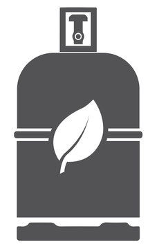 Icon bouteille de biogaz