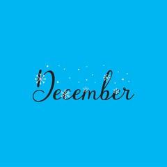 december design template, welcome december