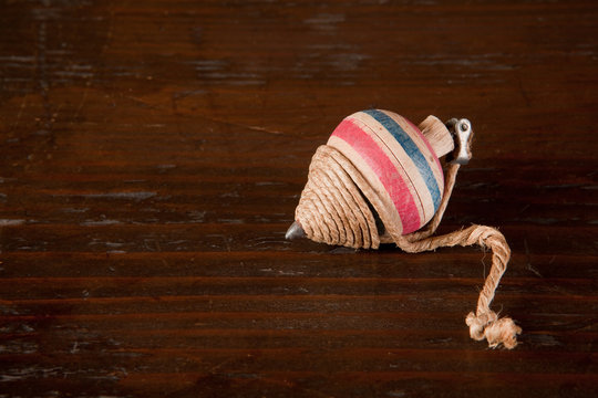Antique spinning top