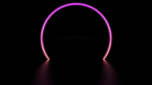 digital light circle