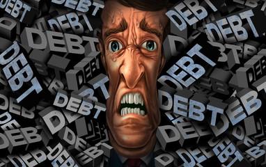 Financial Debt Stress