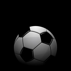 Football black background