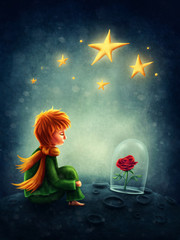 Illustration of little prince