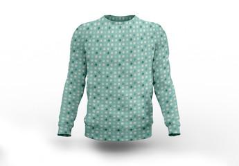 Patterned Sweatshirt Mockup
