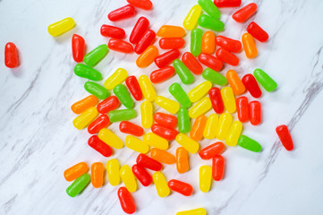 Fruit Candy Jelly Beans
