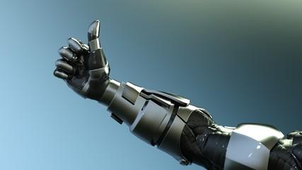 ロボット アンドロイド 手 いいね Robot Android Hand Like thumb up