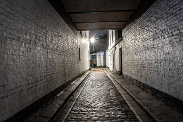 Backstreet in Marylebone, London