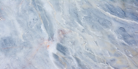 Wall Mural - Panorama colorful marble texture background. Panoramic stripe blue marble texture surface