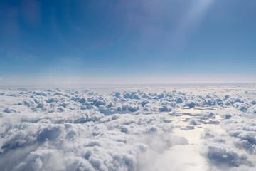 雲の上から Wall mural