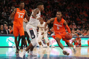 NCAA Basketball: Empire Classic-Connecticut at Syracuse