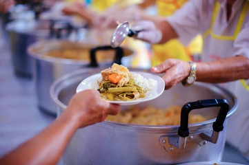 Share Food Helping Homeless People in Society on Earth: The Concept of Hunger Hunger