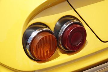 車のテールライト Old car tail lights