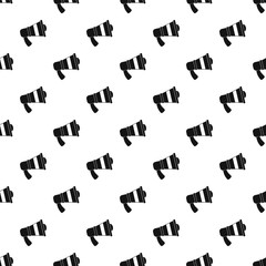 Megaphone pattern seamless vector repeat geometric for any web design