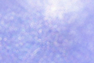 Blurred pink sparkles, soft and abstract full frame background.