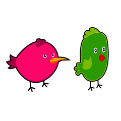 Birds cartoon