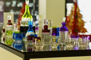 Kristallglas aus der Produktion in Waterford, Irland
