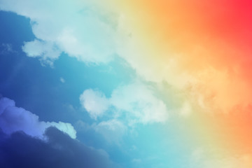 abstract cloud pastel background